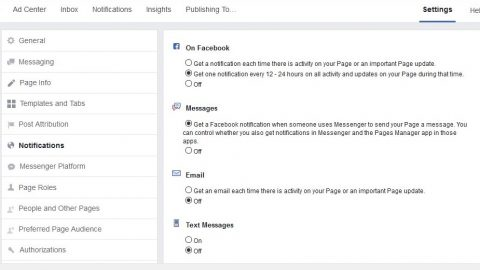 How to setup a business facebook page